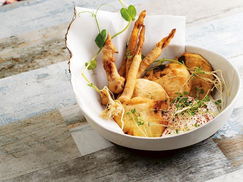 Kereviz tempura