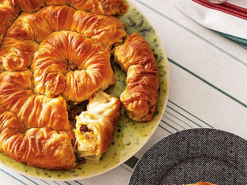 Kestaneli ve bal kabaklı börek