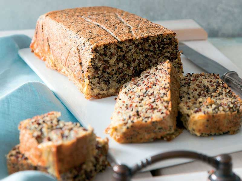 Kinoa Ekmeği