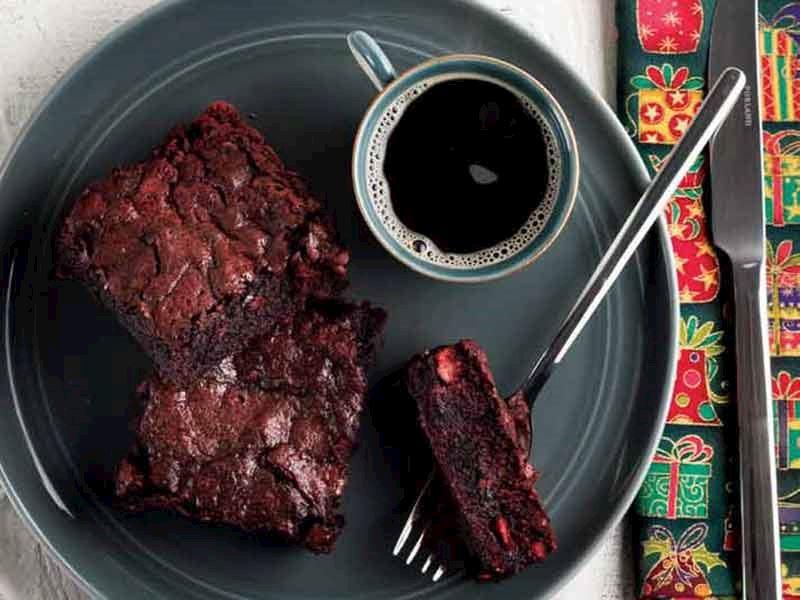 Kırmızı kadife brownie