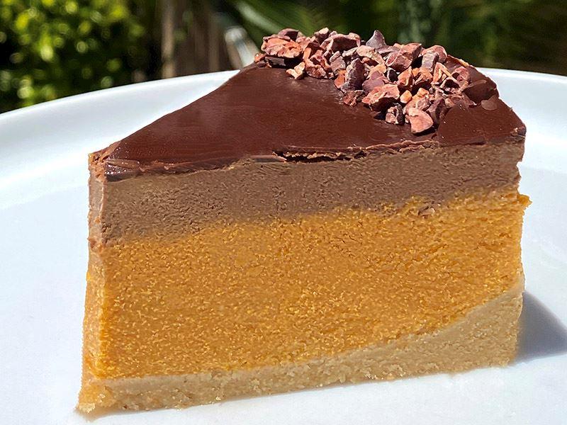 Kıtır Çikolatalı Balkabagı Cheesecake