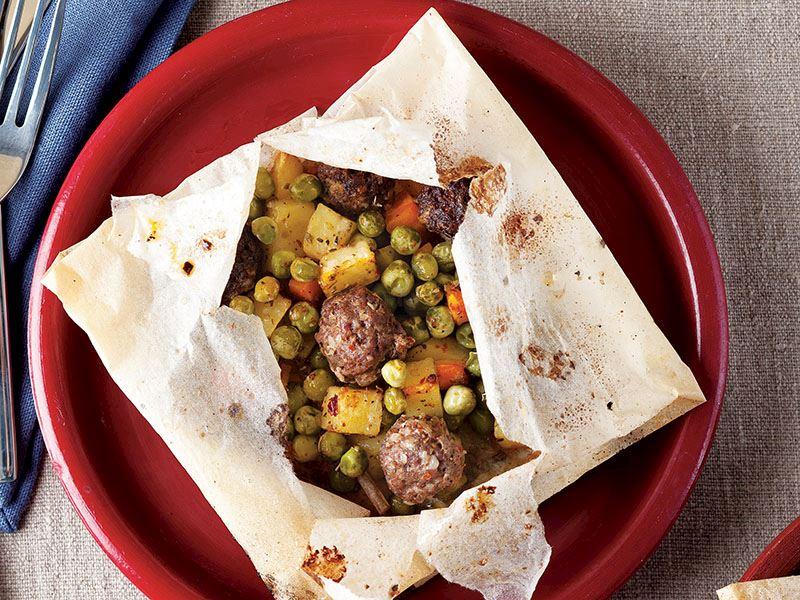 Köfteli Kağıt Kebabı