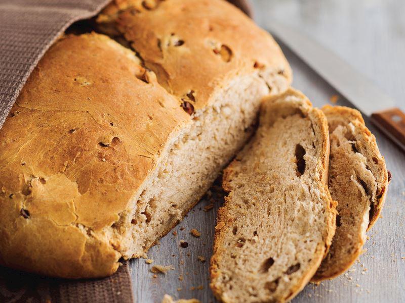 Közlenmiş Kestaneli Ekmek