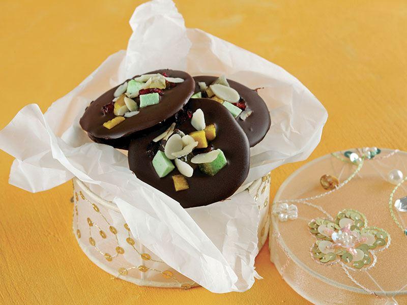 Kurutulmuş Meyveli Çikolatalar