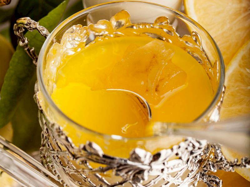 Limonlu panna cotta