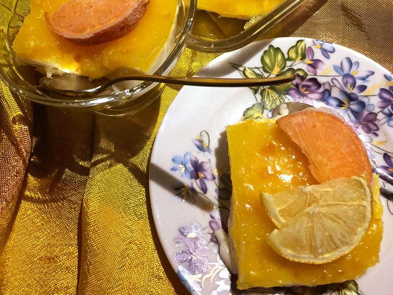 Limonlu sakızlı tatlı