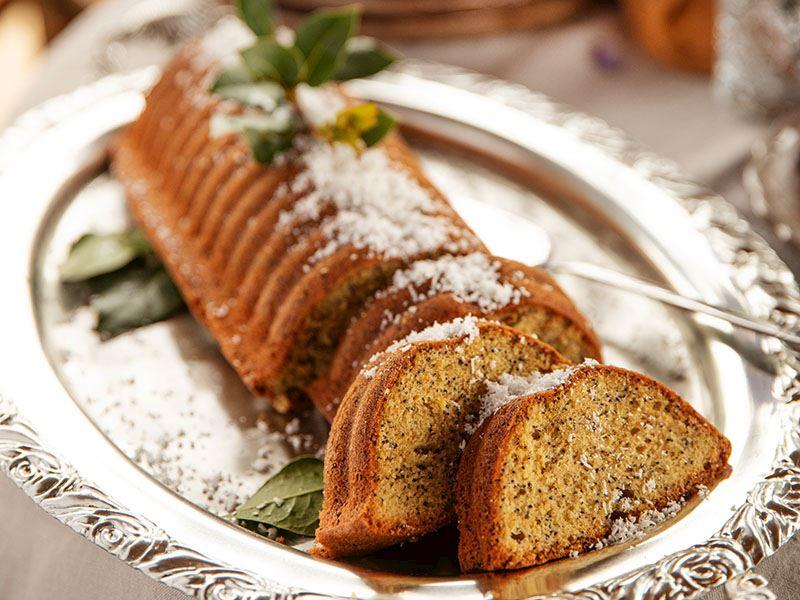 Limonlu ve haşhaşlı kek