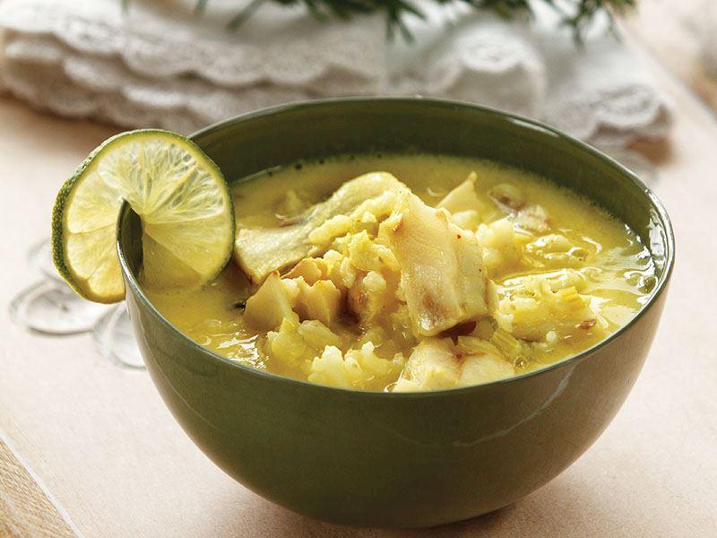 Limonlu Ve Pirinçli Balık Çorbası