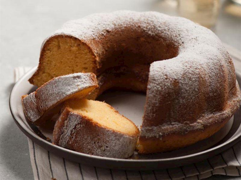 Mandalina Aromalı Kek