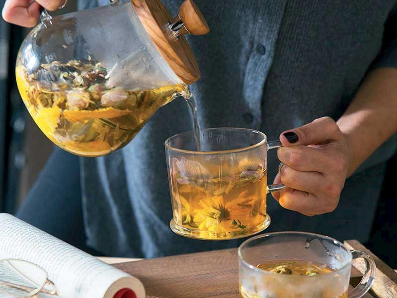 Mandalina kabuğu çayı