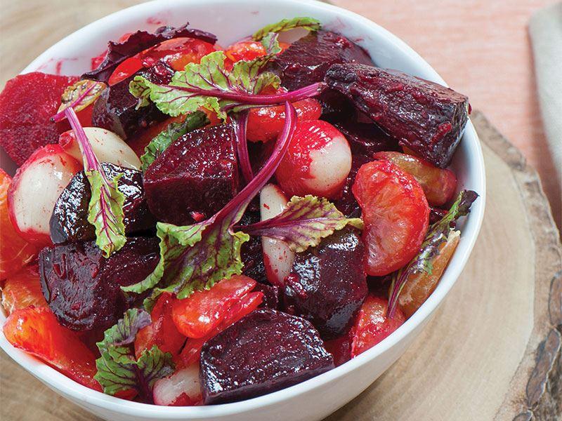 Mandalinalı Pancar Salatası