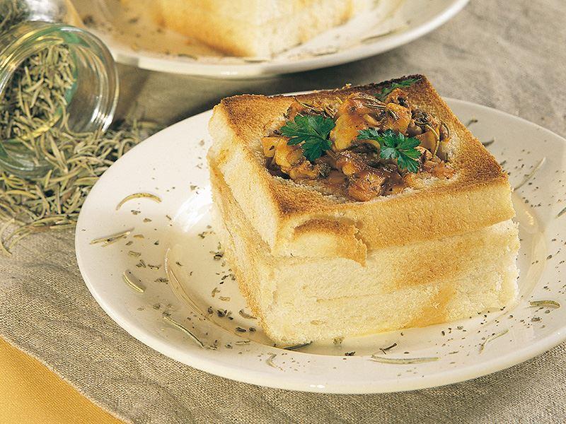 Mantarlı Ekmek Kasesi