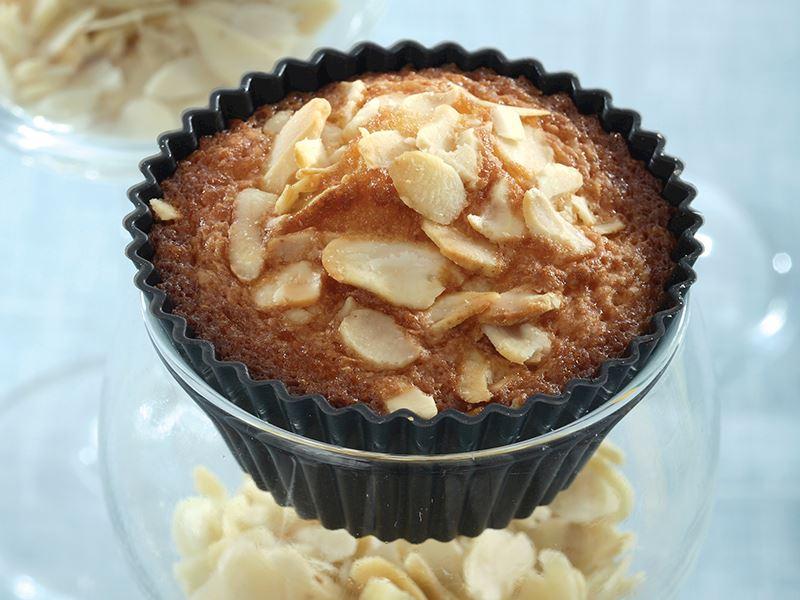 Marmelatlı Bademli Muffin