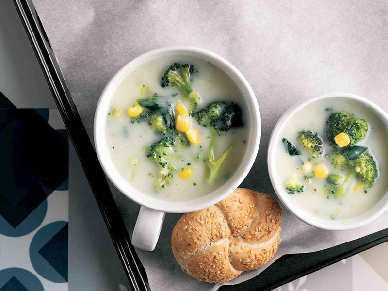 Mısırlı brokoli çorbası