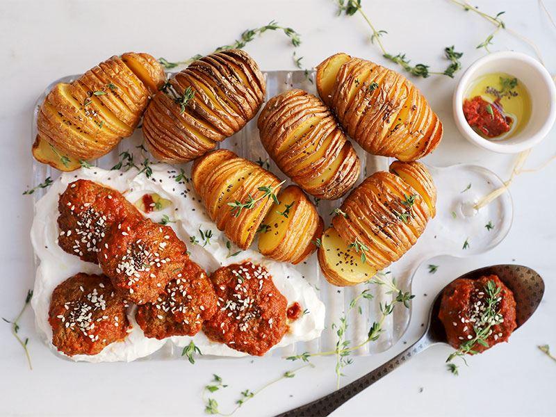 Modern köfte patates