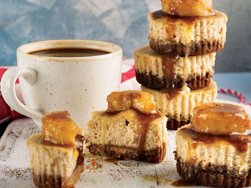 Muzlu mini cheesecake
