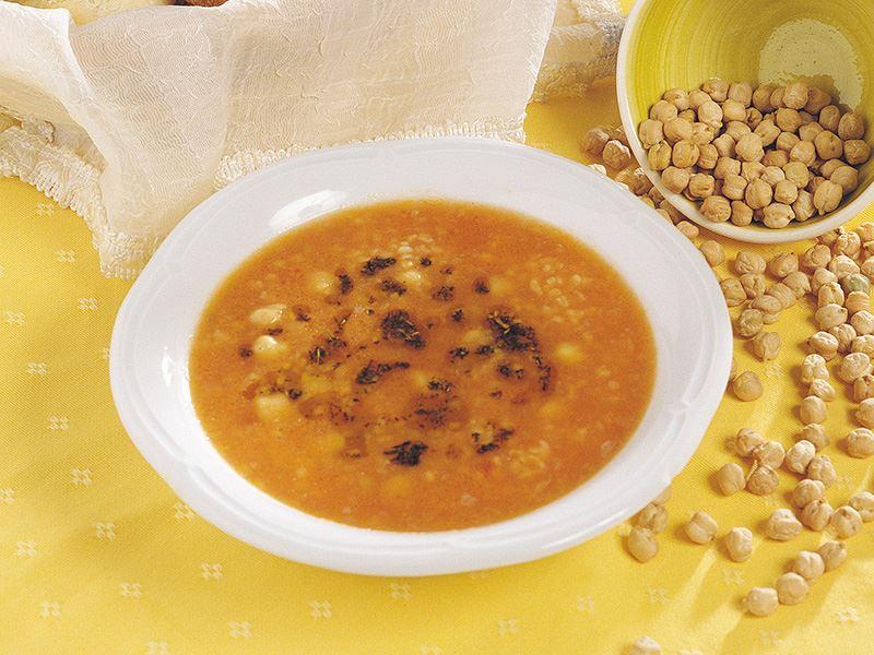 Nohutlu Patates Çorbası