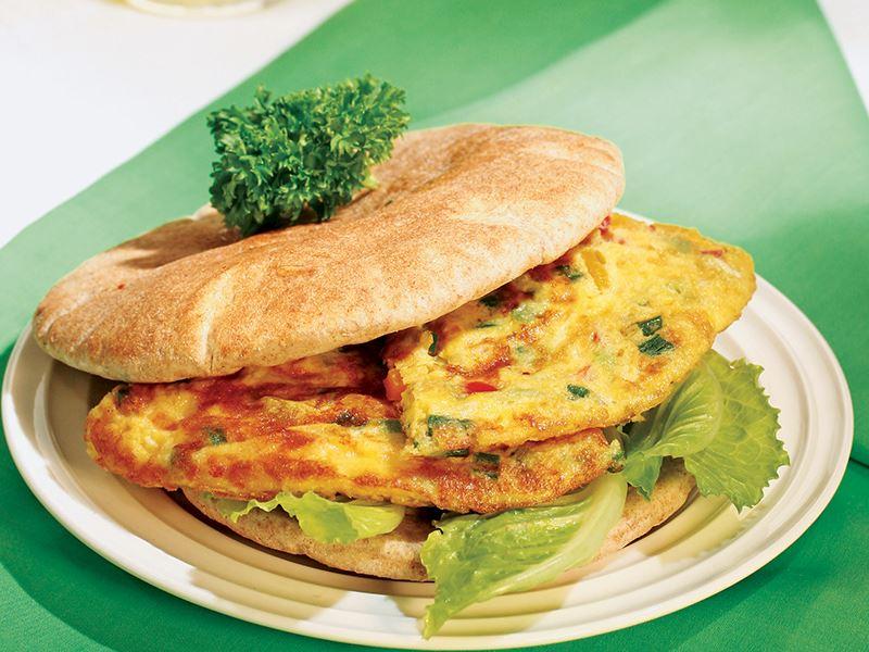 Omletli Sandviç