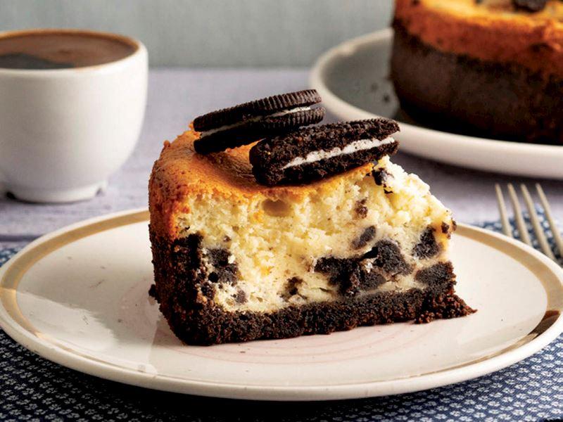 Oreo'lu cheesecake