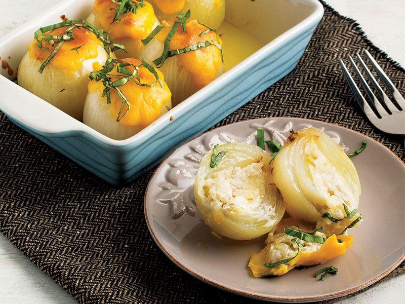 Patatesli Ve Tahıllı Soğan Dolması