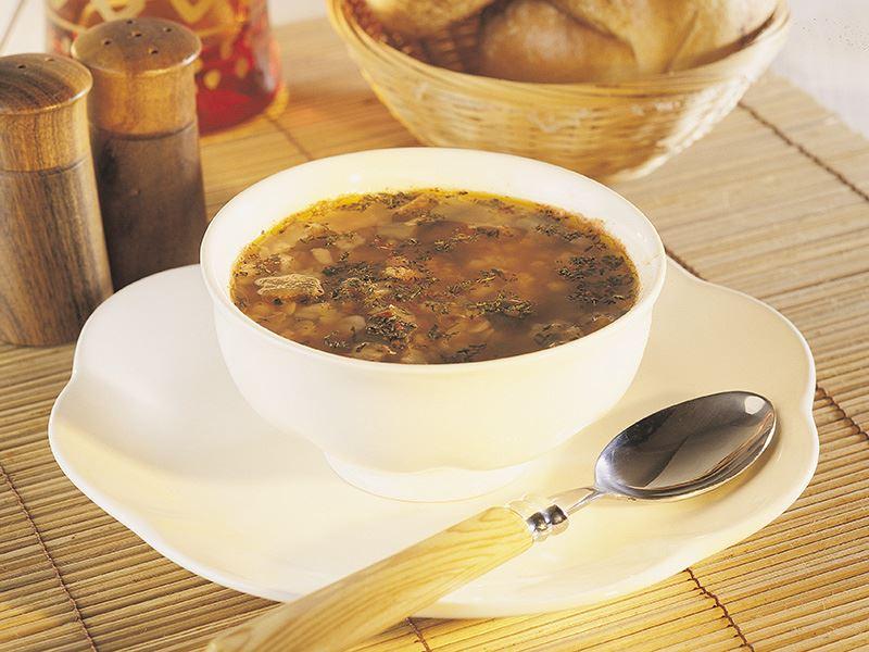 Patlıcanlı Ekşili Çorba