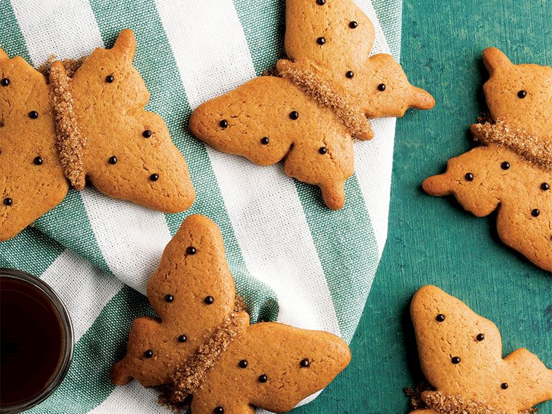 Pekmezli kelebek kurabiye