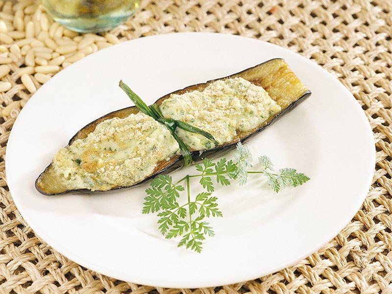 Peynirli Patlıcan Kayığı