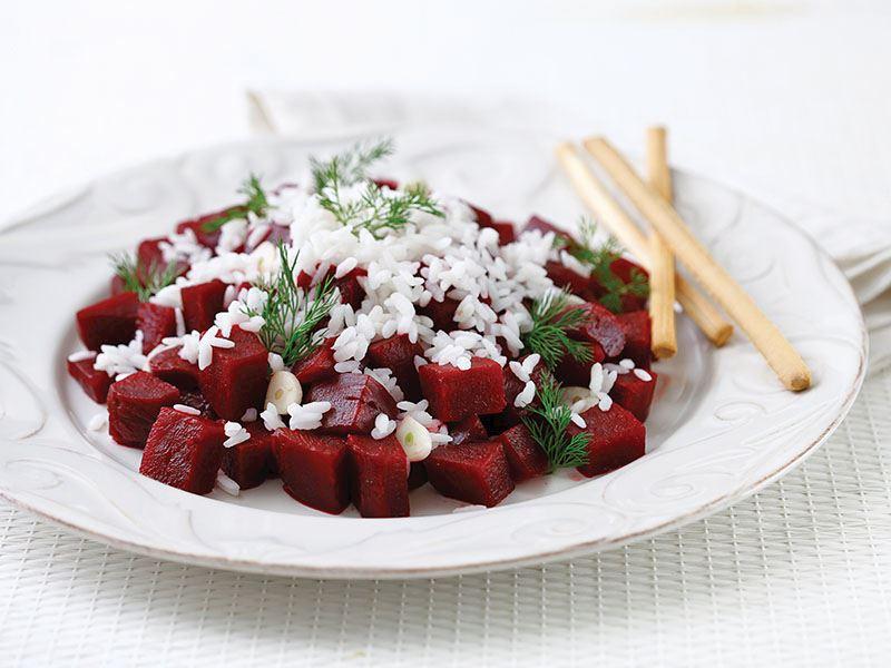 Pirinçli Pancar Salatası