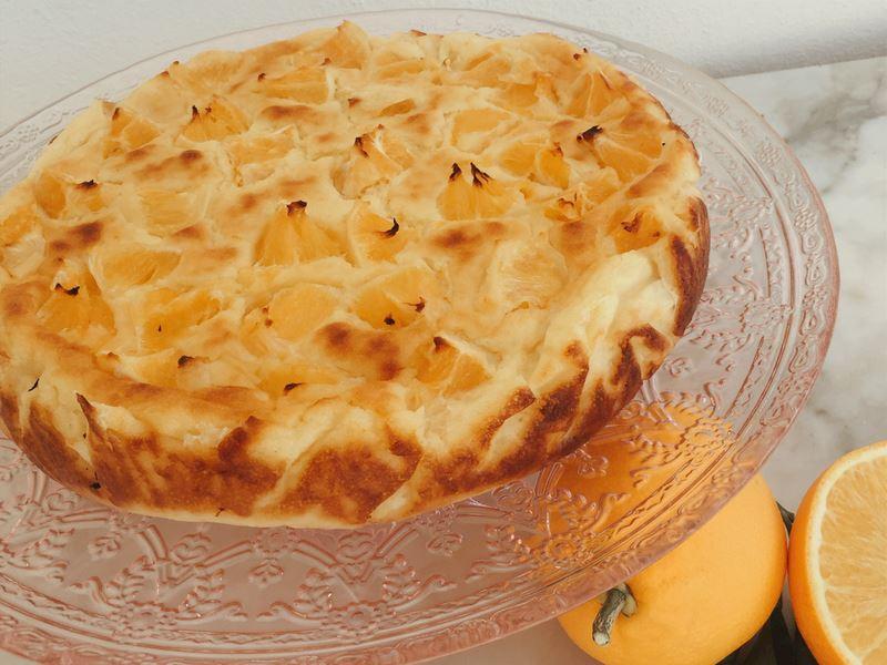 Portakallı İrmik Pastası