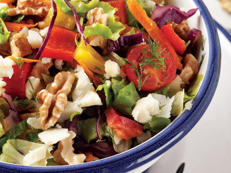 Doğum günün için lezzetli bir salata yapmak için ne yapmalı