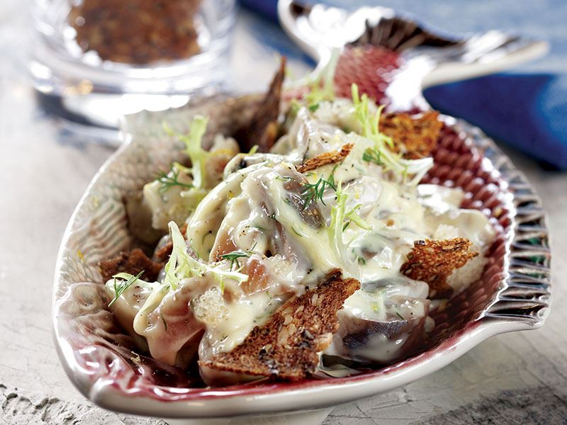 Ringa Balığı Salatası