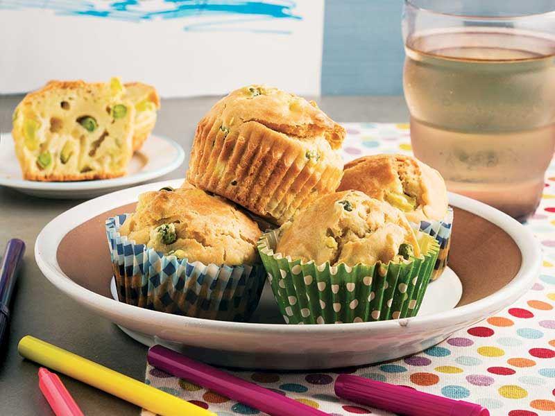 Sebzeli mini kek
