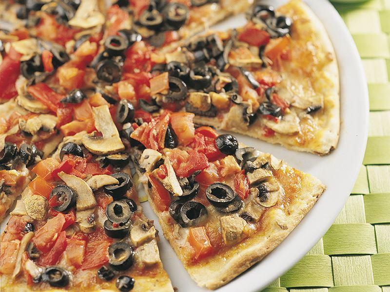 Sebzeli Kıtır Pizza