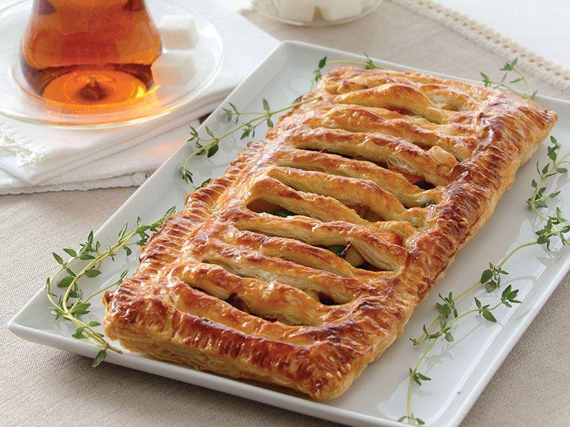 Sebzeli Şerit Börek