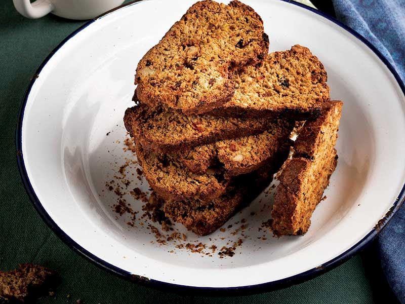 Seferihisar ve Uşak tarhanasından biscotti