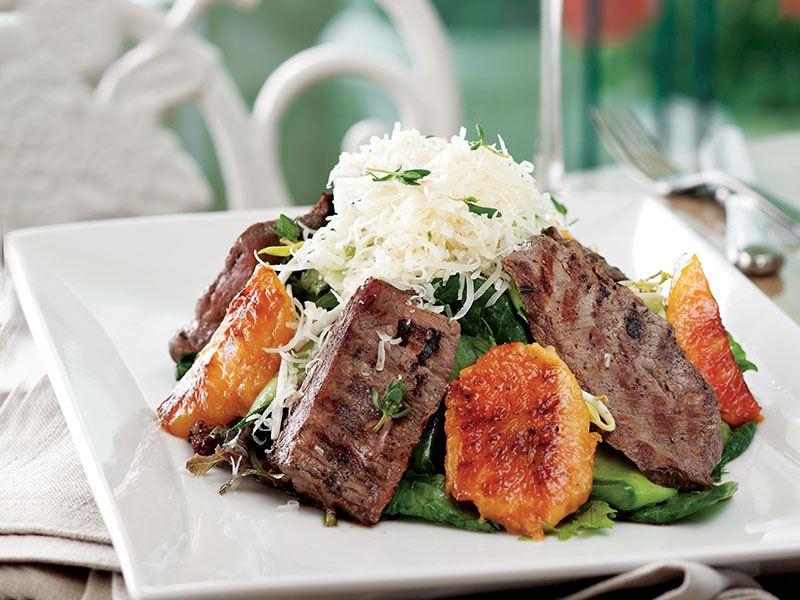Şeftalili Bonfile Salata
