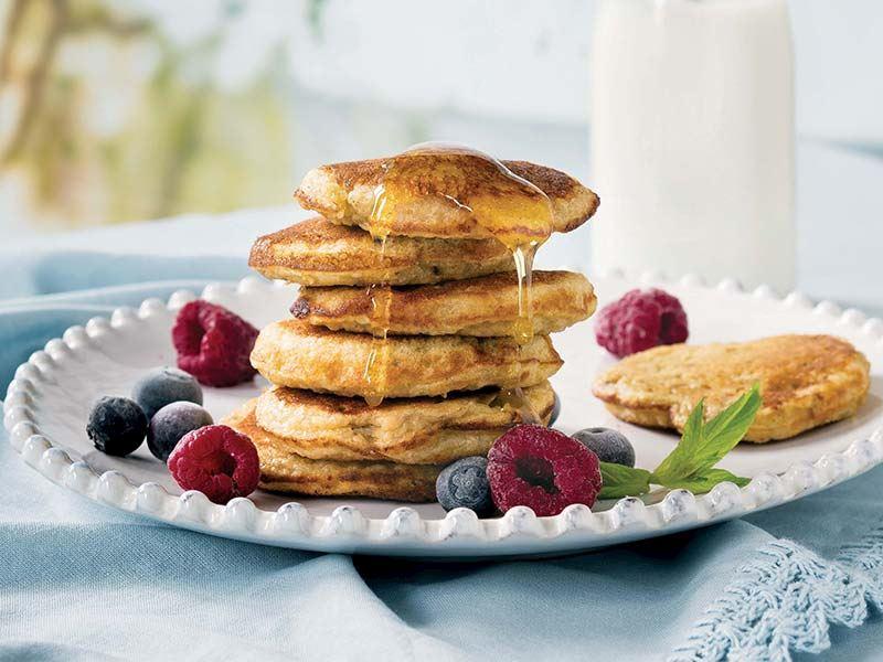 Şekersiz muzlu pancake