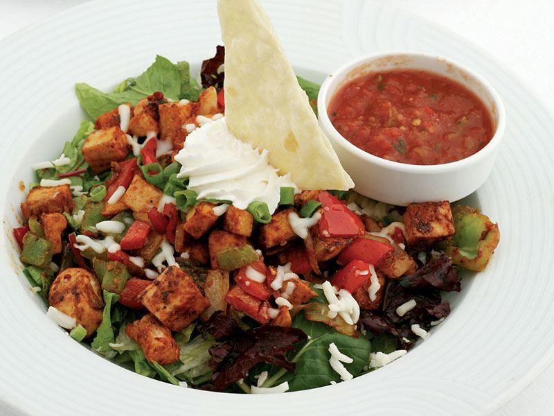 Sıcak Fajita Salatası