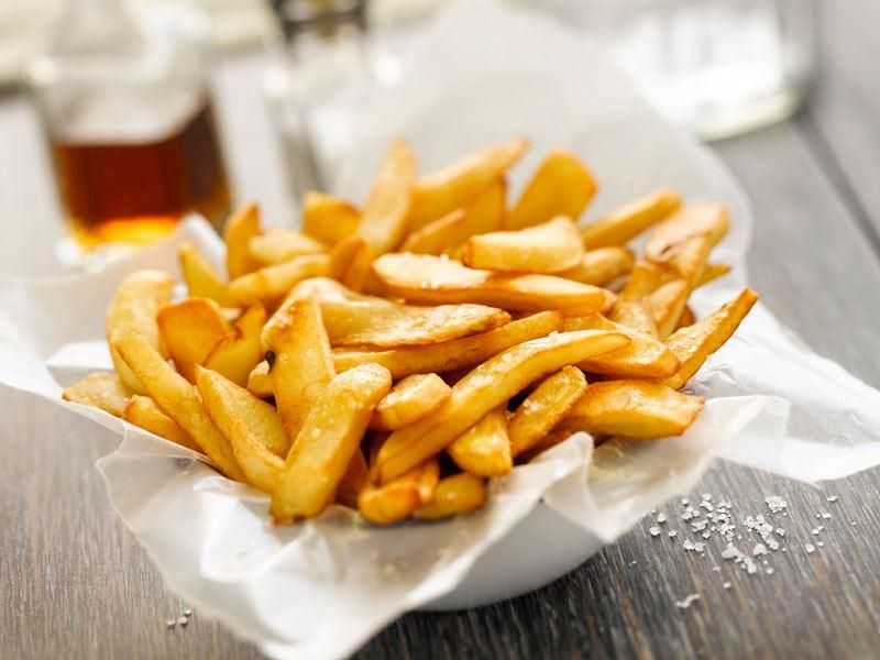 Sirkeli Patates Kızartması