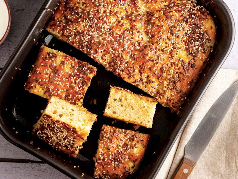 Soğanlı patatesli kek