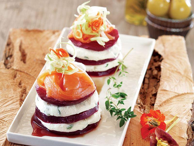 Somonlu Pancar Salatası