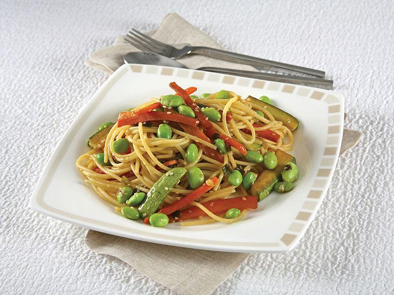Soya Fasulyeli Spagetti