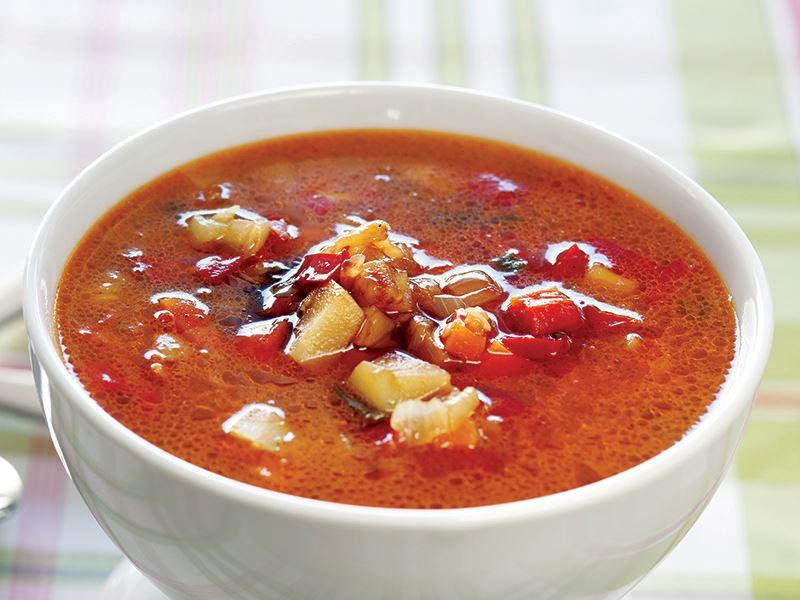 Soya Soslu Sebze Çorbası