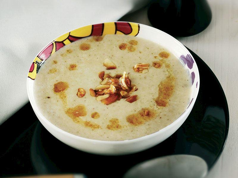 Sütlü Kestane Çorbası