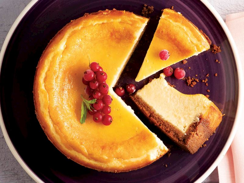 Tahinli Cheesecake