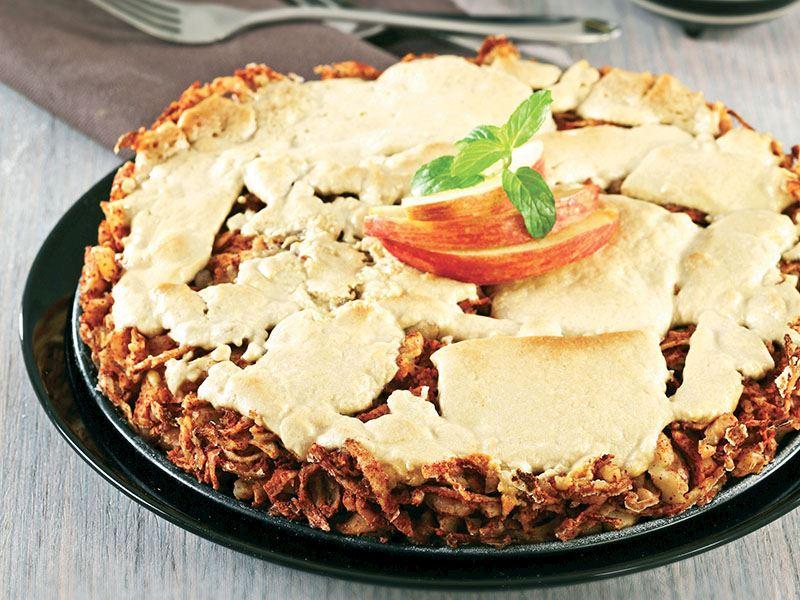 Tahinli Elma Pastası
