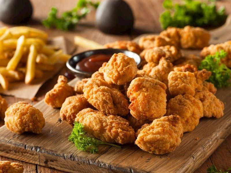 Tarhana Kaplı Kfc Tavuk