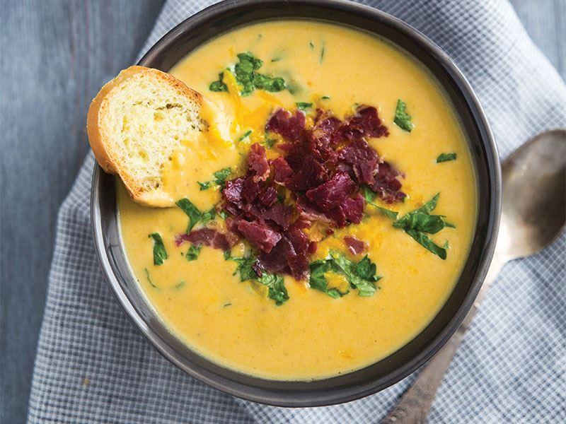 Tatlı patates çorbası