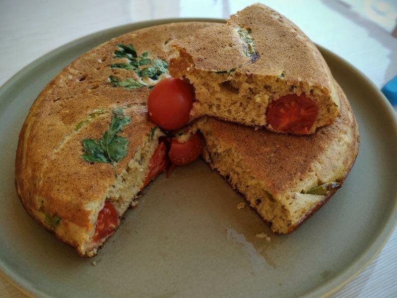 Tavada kahvaltı ekmeği