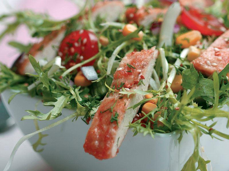 Tavuklu Endivyen Salatası